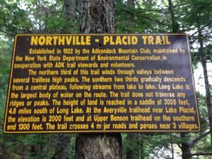 NP trail sign
