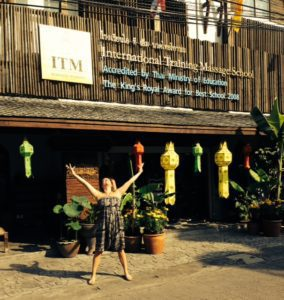 Amy Adams at Thai Massage School