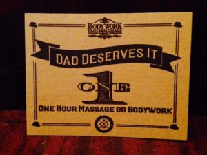 2016 Father's Day Gift Certificate