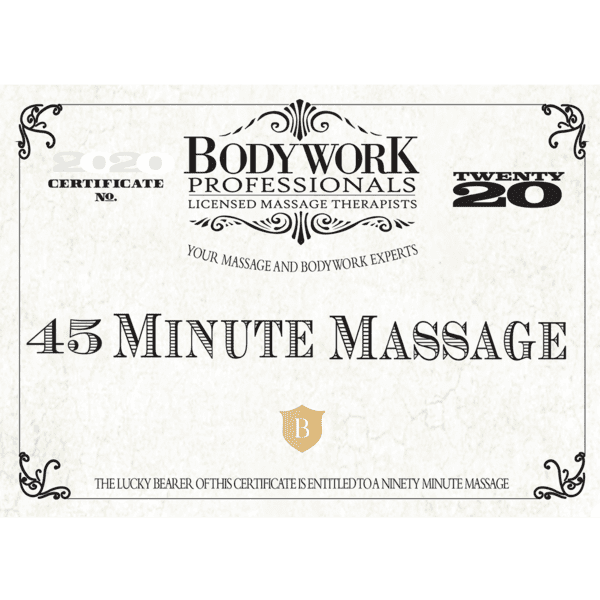 45 Minute Gift Certificate
