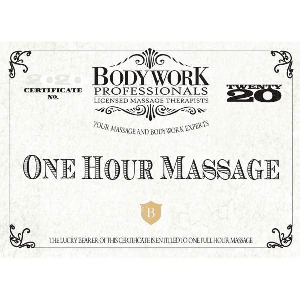 1 Hour Gift Certificate