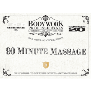 90 Minute Gift Certificate