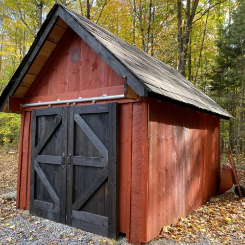 Saratoga Springs Shed